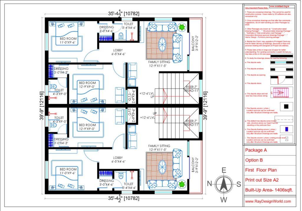 Capten Arul -Vengambakkam Chennai -Bungalow-First Floor Plan