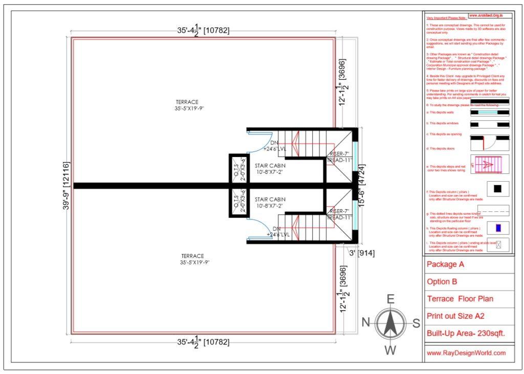 Capten Arul -Vengambakkam Chennai -Bungalow-Terrace Floor Plan