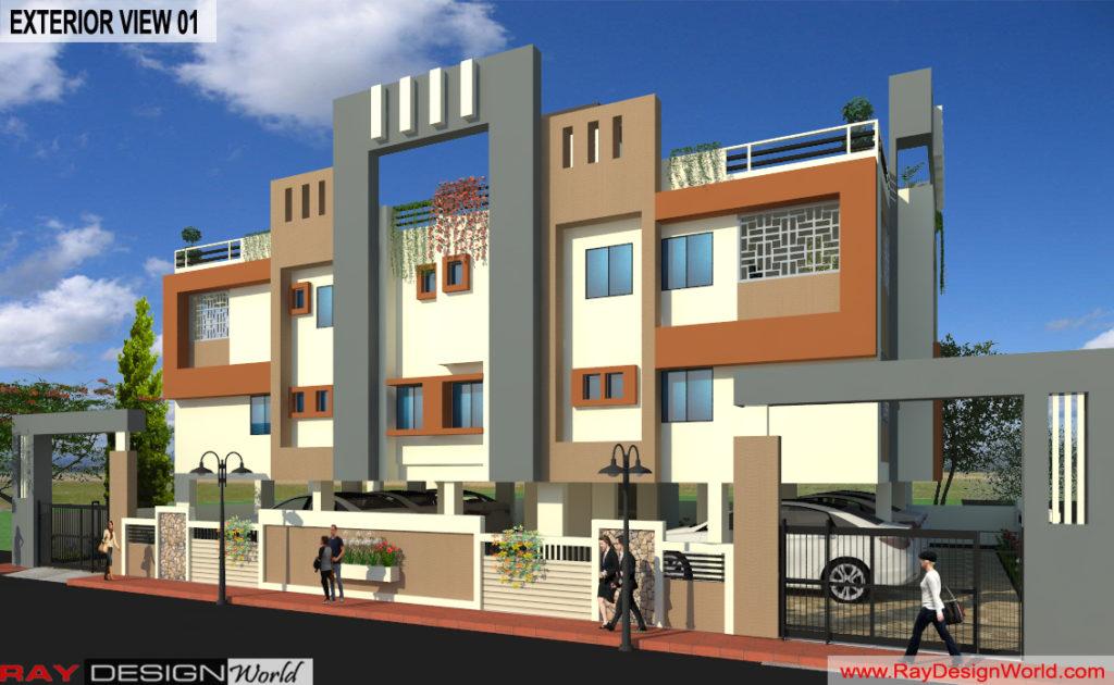 Capten-Arul-Madipakkam-Chennai-Apartment-3d-Exterior-View-01