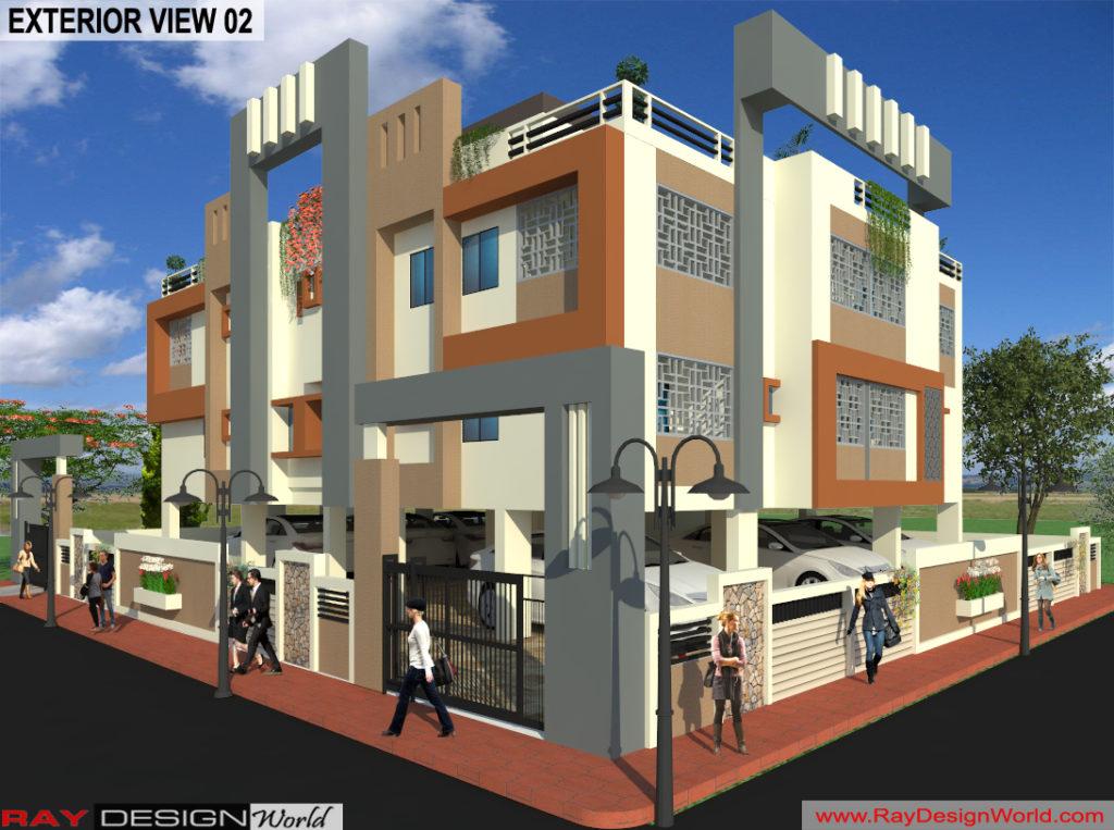 Capten-Arul-Madipakkam-Chennai-Apartment-3d-Exterior-View-02