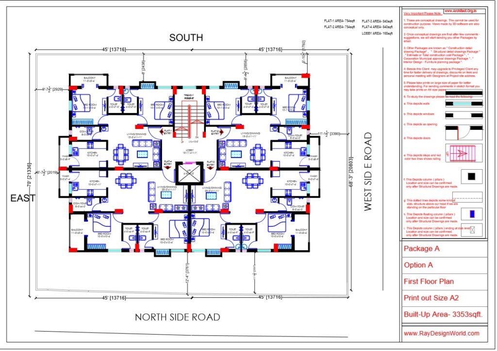 Capten Arul-Madipakkam chennai-Apartment-First Floor plan