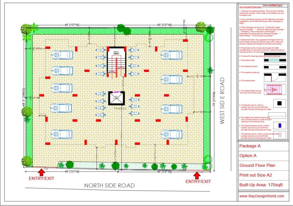 Capten Arul-Madipakkam chennai-Apartment-Ground Floor plan