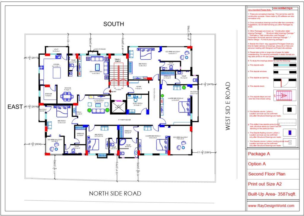 Capten Arul-Madipakkam chennai-Apartment-Second Floor plan