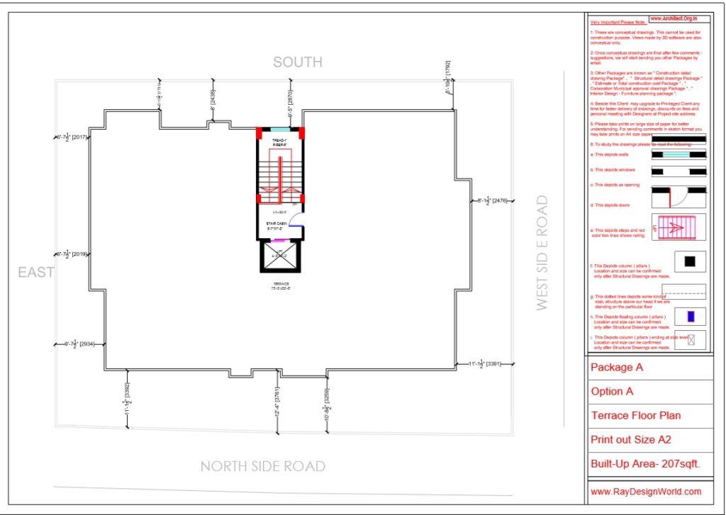 Capten Arul-Madipakkam chennai-Apartment-Terrace Floor plan