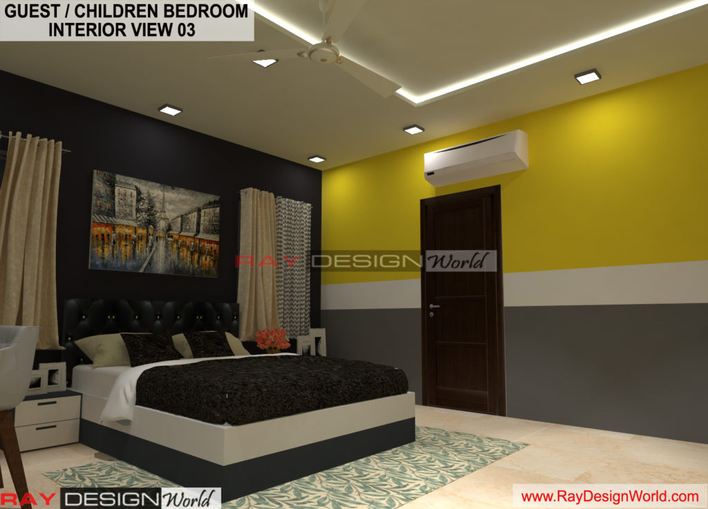 Capten Arul-Madipakkam chennai-Guest And Children Bedroom Interior View-03