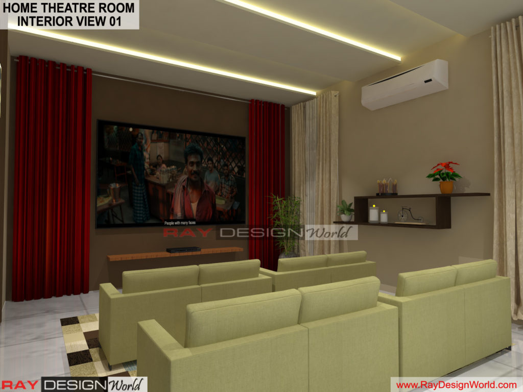Capten Arul-Madipakkam chennai-Home Theatre Room- Interior View-01