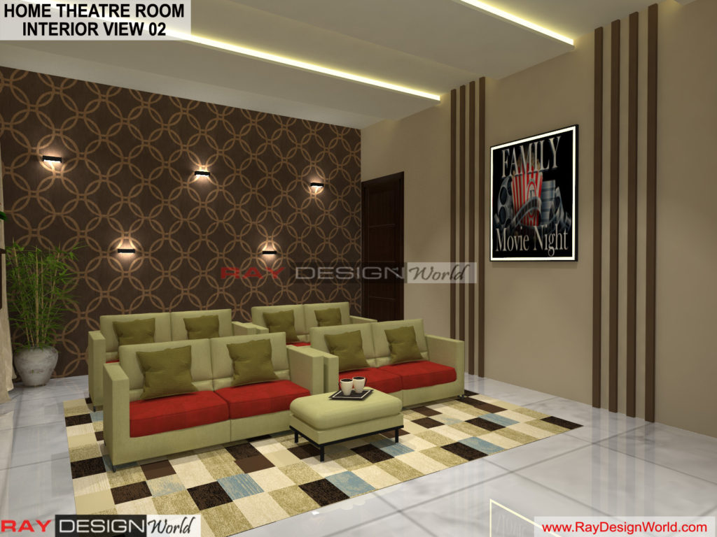 Capten Arul-Madipakkam chennai-Home Theatre Room- Interior View-02