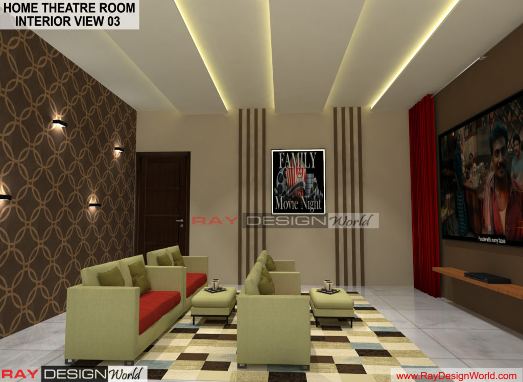 Capten Arul-Madipakkam chennai-Home Theatre Room- Interior View-03