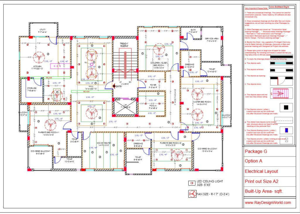 Capten-Arul-Madipakkam-chennai-House-Interior-Package-G-Electrical-Layout