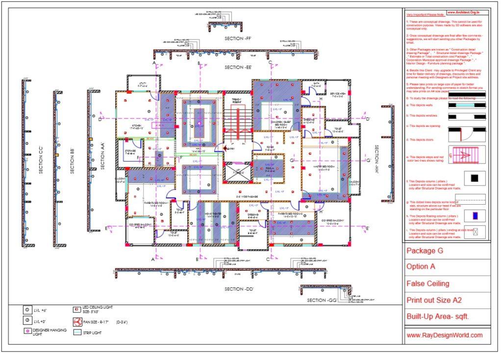Capten-Arul-Madipakkam-chennai-House-Interior-Package-G-False-Ceiling-Details