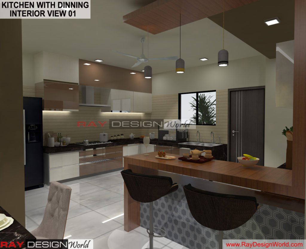 Capten Arul-Madipakkam chennai-Kitchen with Dinning- Interior View-01
