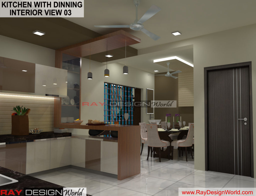 Capten Arul-Madipakkam chennai-Kitchen with Dinning- Interior View-03