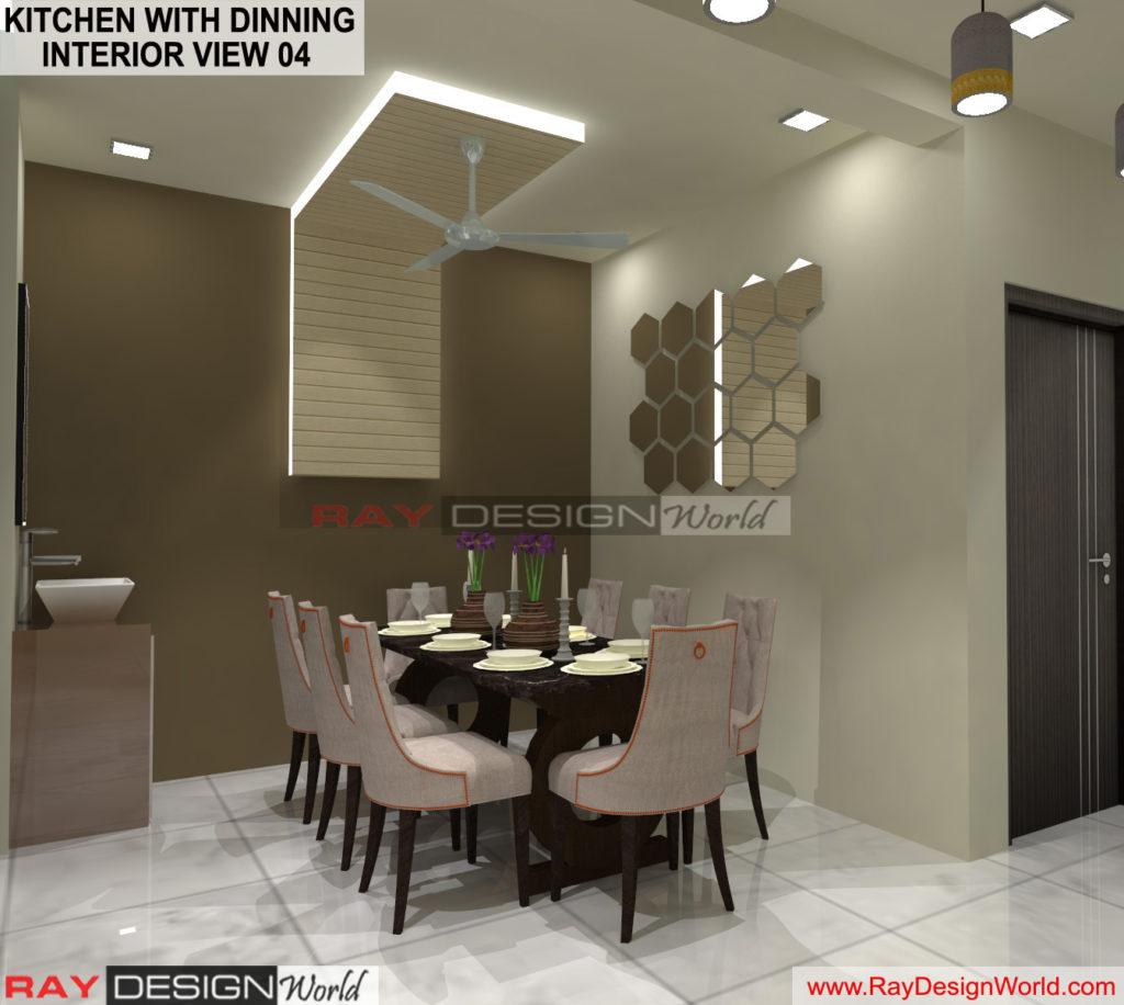 Capten Arul-Madipakkam chennai-Kitchen with Dinning- Interior View-04