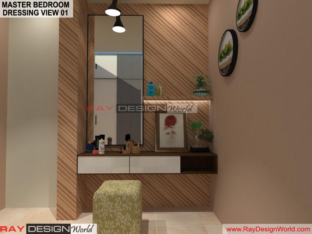 Capten Arul-Madipakkam chennai-Master Bedroom Dressing View-01