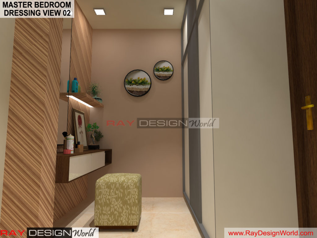 Capten Arul-Madipakkam chennai-Master Bedroom Dressing View-02