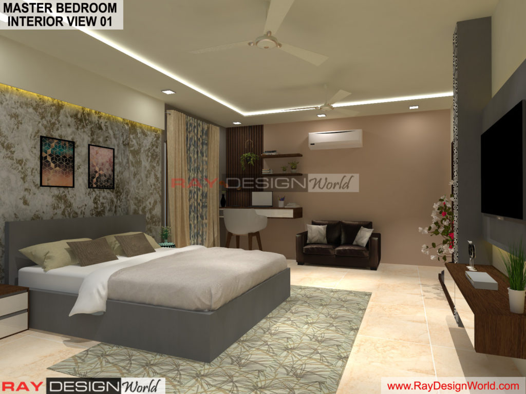 Capten Arul-Madipakkam chennai-Master Bedroom Interior View-01