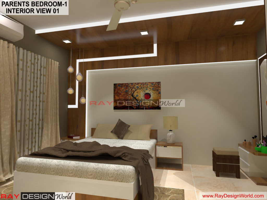 Capten Arul-Madipakkam chennai-Parents Bedroom-1 Interior View-01