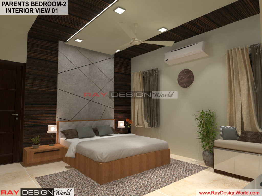 Capten Arul-Madipakkam chennai-Parents Bedroom-2- Interior View-01