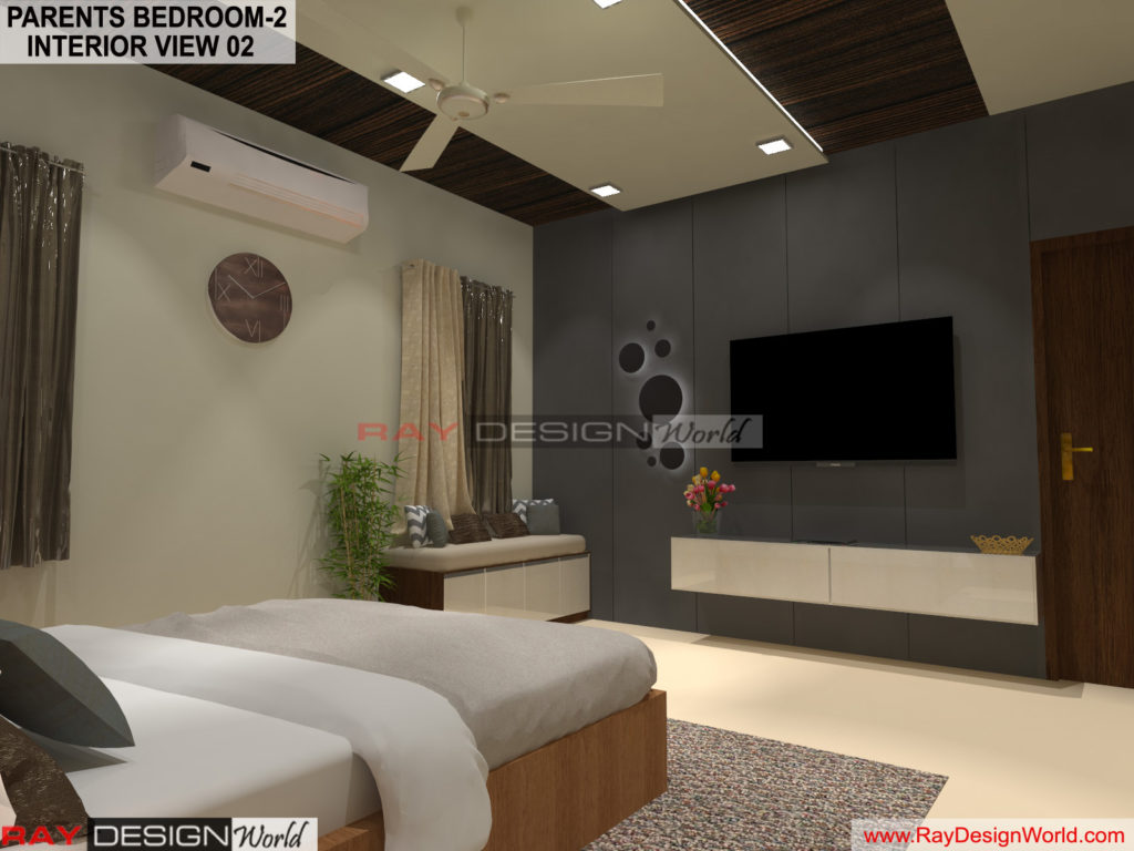 Capten Arul-Madipakkam chennai-Parents Bedroom-2- Interior View-02