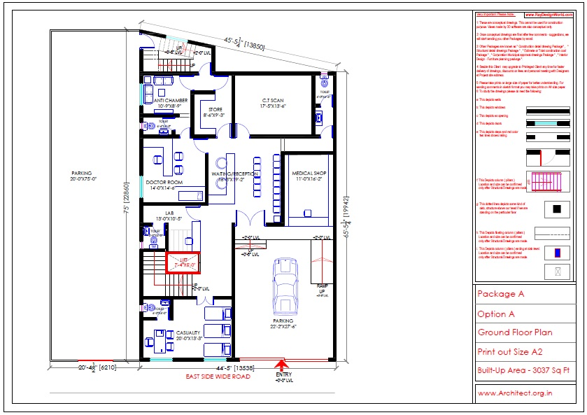 Dr.Sudhir Bhimrao-Dhaigude Khandala Maharashtra-Hospital-Ground Floor Plan