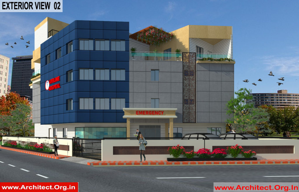 Dr.Ashish- Bhilwara Rajasthan- Hospital-3d Exterior View-02