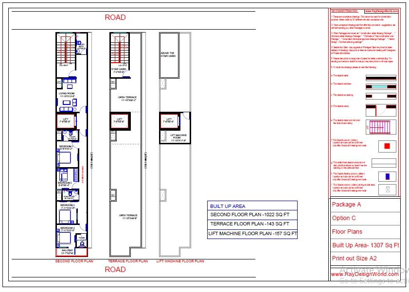 Dr.Azmat -Jaunpur Uttar Pradesh-Hospital-Second To Lift Machine Floor Plan