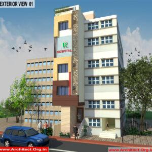 Dr.Prabhakar-Delhi -Hospital-3d Exterior View-01