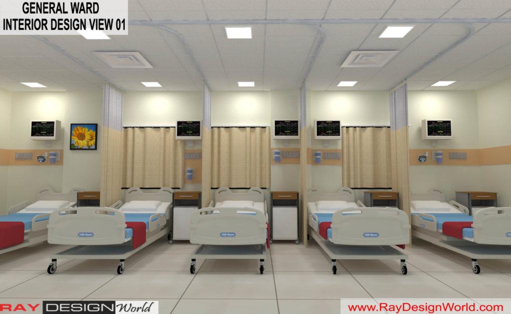 Dr.Rajeev-Pandurangi-Shimoga-Bangalore-Hospital-General-Ward-3D-interior-View-01