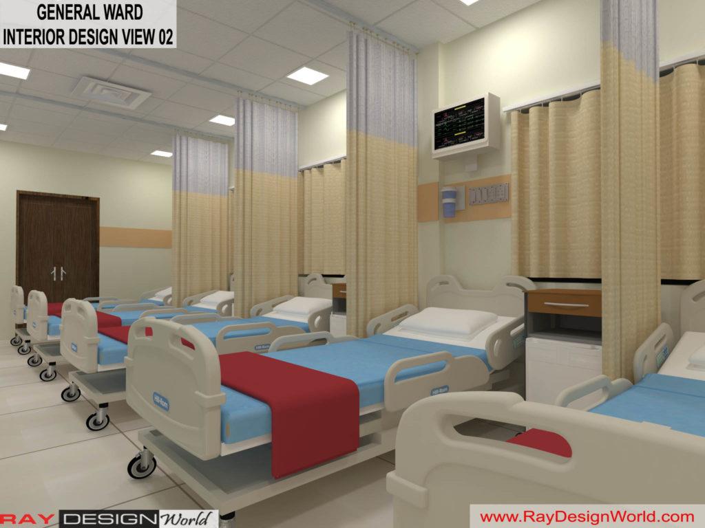 Dr.Rajeev-Pandurangi-Shimoga-Bangalore-Hospital-General-Ward-3D-interior-View-02