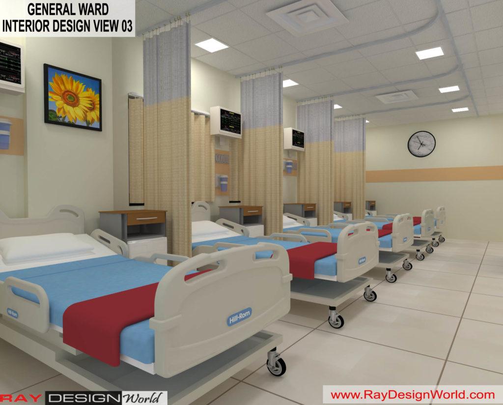 Dr.Rajeev-Pandurangi-Shimoga-Bangalore-Hospital-General-Ward-3D-interior-View-03