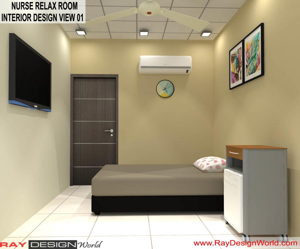 Dr.Rajeev-Pandurangi-Shimoga-Bangalore-Hospital-Nurse-Relax-room-3D-interior-View-01