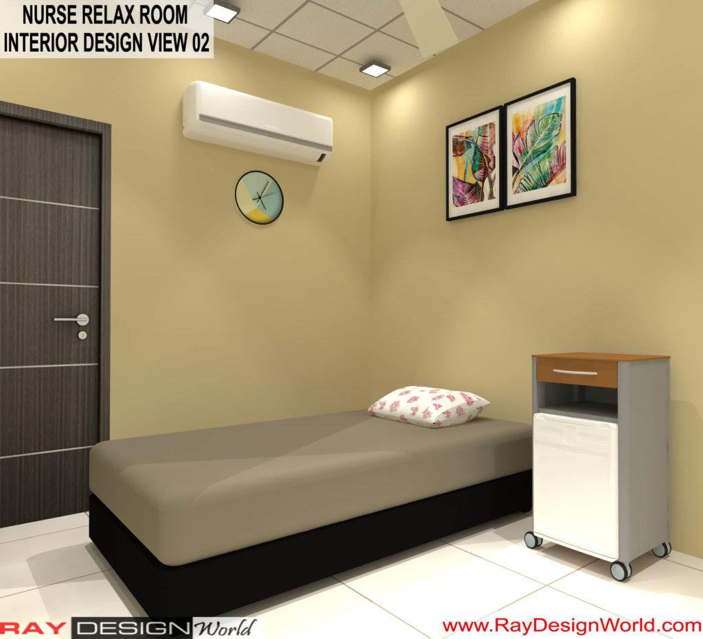 Dr.Rajeev-Pandurangi-Shimoga-Bangalore-Hospital-Nurse-Relax-room-3D-interior-View-02