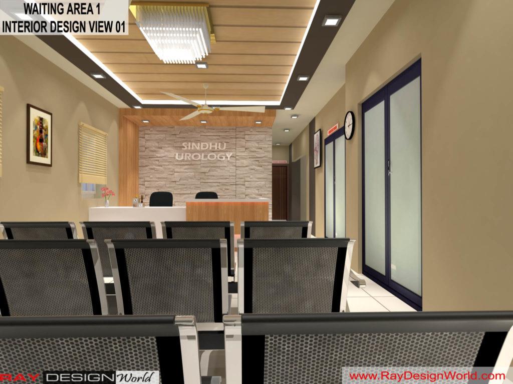 Dr.Rajeev-Pandurangi-Shimoga-Bangalore-Hospital-Waiting-Area-3D-interior-View-01