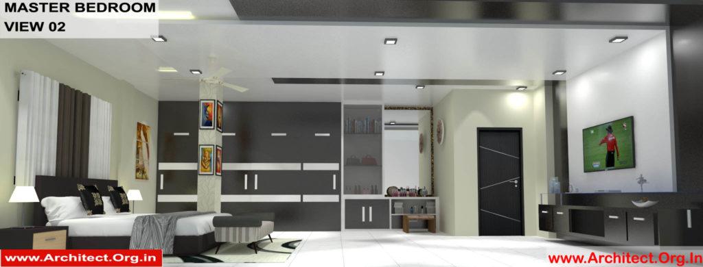 Dr.Sandeep Ada-Naidupet Andhra Pradesh-House interior-Master Bedroom View-02