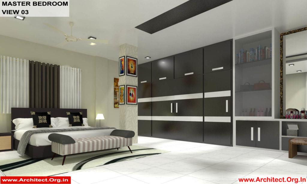 Dr.Sandeep Ada-Naidupet Andhra Pradesh-House interior-Master Bedroom View-03
