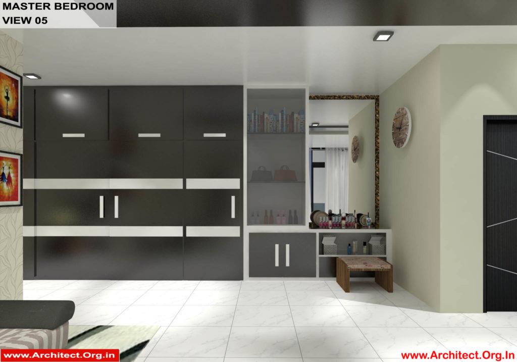 Dr.Sandeep Ada-Naidupet Andhra Pradesh-House interior-Master Bedroom View-05