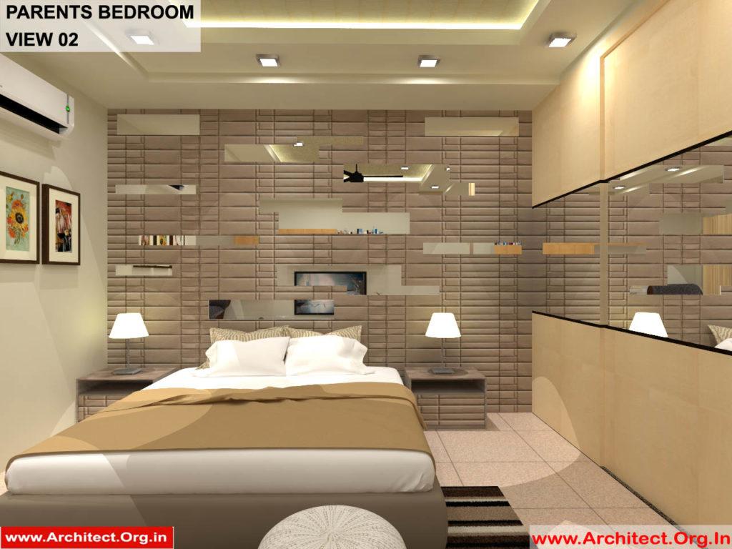 Dr.Sandeep Ada-Naidupet Andhra Pradesh-House interior-Parents Bedroom-View-02