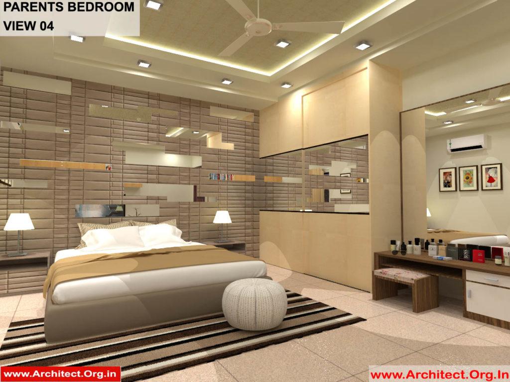 Dr.Sandeep Ada-Naidupet Andhra Pradesh-House interior-Parents Bedroom View-04