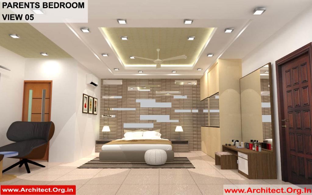 Dr.Sandeep Ada-Naidupet Andhra-Pradesh-House interior-Parents Bedroom View-05