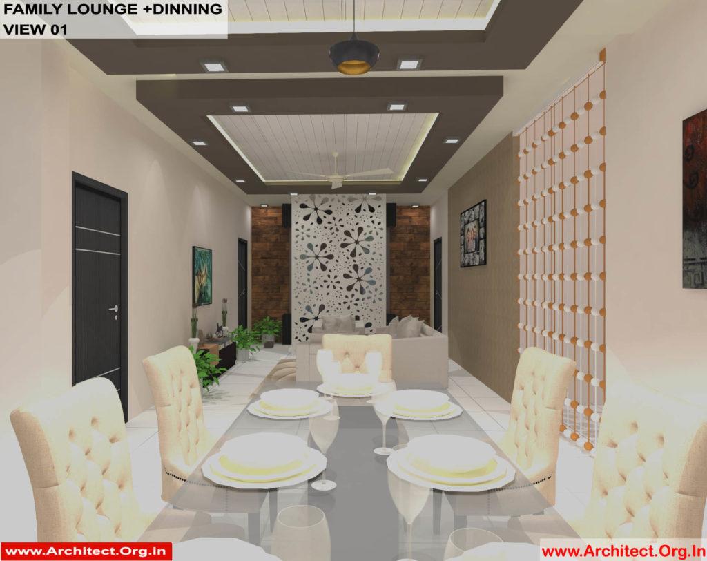 Dr.Sandeep Ada-Nayudupet Andhra Pradesh-House interior-Family Lounge-Dinning-View-01