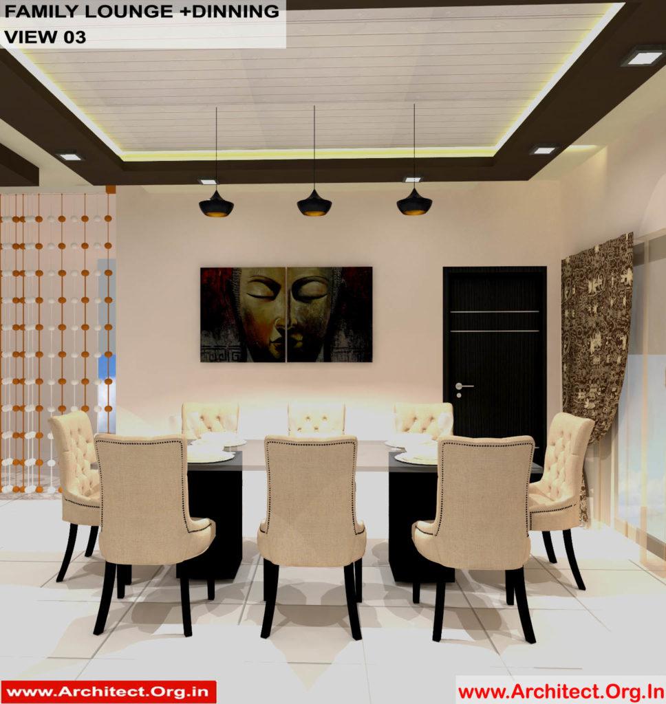 Dr.Sandeep Ada-Nayudupet Andhra Pradesh-House interior-Family Lounge-Dinning-View-03