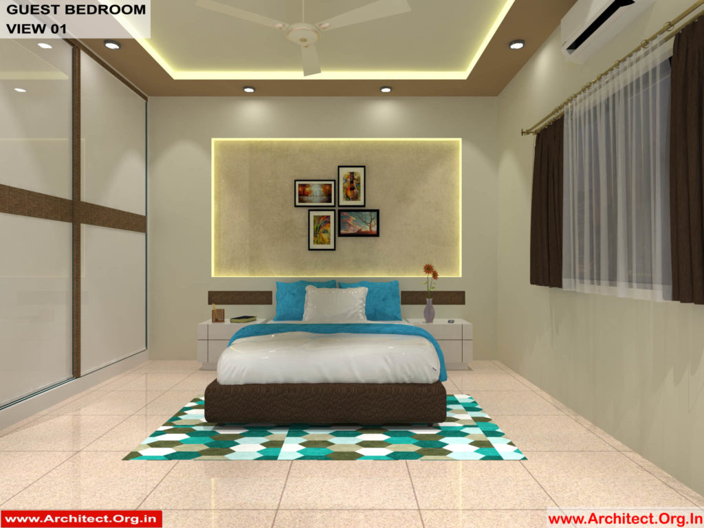 Dr.Sandeep Ada-Nayudupet Andhra Pradesh-House interior-Guest Bedroom View-01