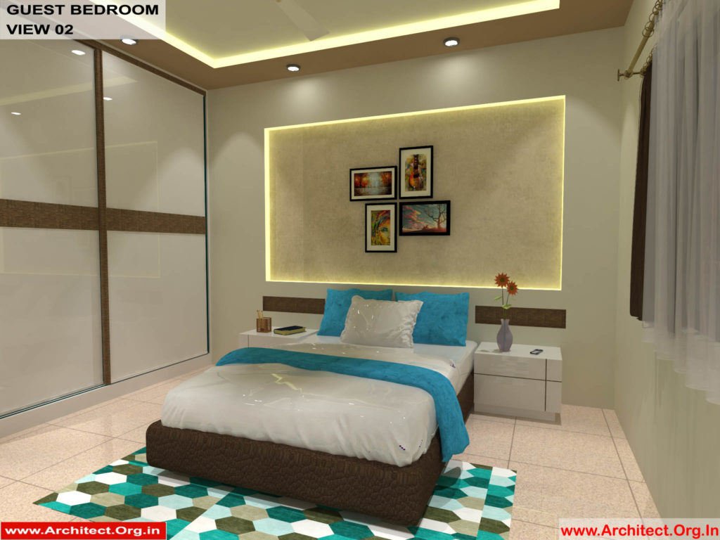 Dr.Sandeep Ada-Nayudupet Andhra Pradesh-House interior-Guest Bedroom View-02