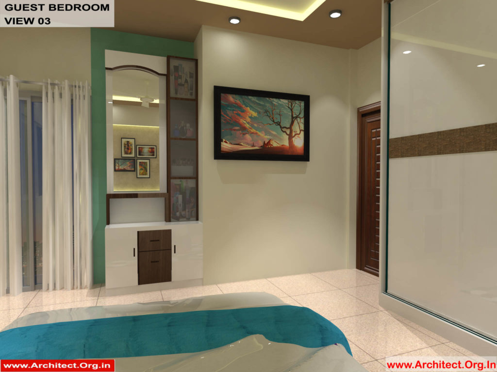 Dr.Sandeep Ada-Nayudupet Andhra Pradesh-House interior-Guest Bedroom View-03