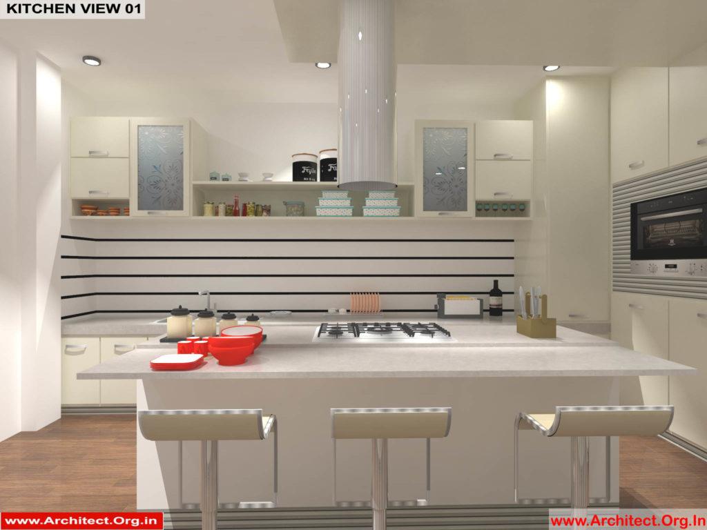 Dr.Sandeep Ada-Nayudupet Andhra Pradesh-House interior-Kitchen View-01