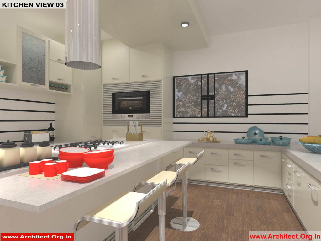 Dr.Sandeep Ada-Nayudupet Andhra Pradesh-House interior Kitchen View-03