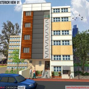 Dr.Talat Fatima - Darbhanga Bihar - Hospital-Exterior View-01