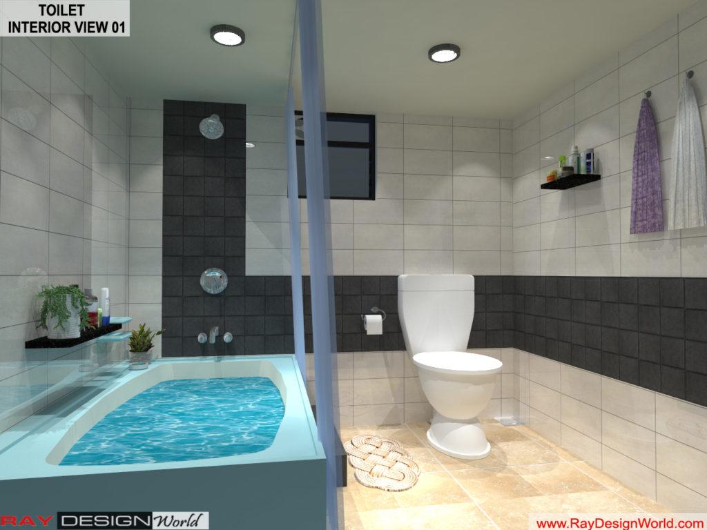Mr Yogendra Singh yadav- Bikaner Rajasthan- Toilet Interior View 01