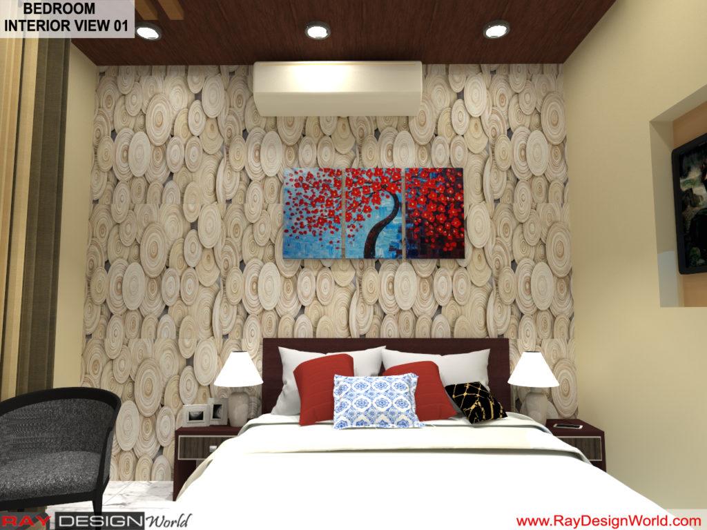 Mr yogendra Singh yadav- Bikaner Rajasthan- Bed room Interior View 01