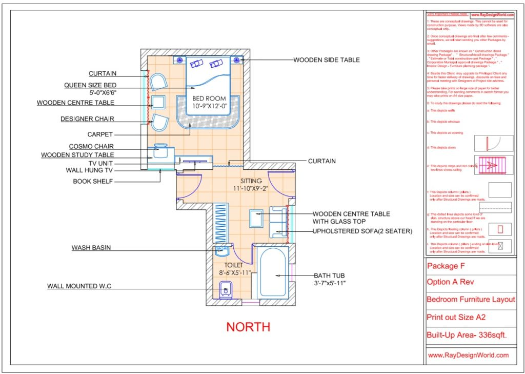 Mr yogendra Singh yadav- bikaner Rajasthan- Bed room Interior-Furniture Layout